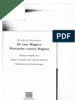 Nietzsche Sobre Wagmer El Eterno Retorno