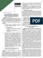 LEY 30137 - Establece criterios de priorización para la atención del pago de sentencias judiciales