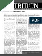 Popular Diets Reviewed 2007