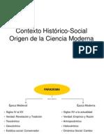 Contexto Histórico-Social Origen de la Ciencia