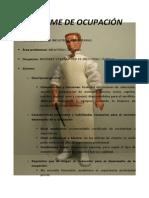 Matarife. Informe de la Ocupación. José Antonio Peñafiel Vásquez. Licenciado en Educación en Industrias Alimentarías