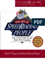 The Art of Speed reading People