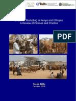 Livestock Marketing in Kenya and Ethiopia
