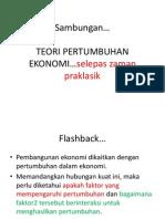 teori pertumbuhan (1)