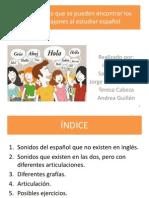 actividad dificultades ingls pdf