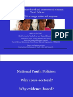 Building Evidence-based and Cross-sectoral National Youth Policies