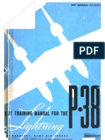 Pilot Training Manual for the P-38 Lightning