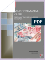 Asian Financial Crisis Report