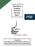 WHT Education Report 12-13