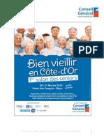 Dijon 1er Salon des Seniors - jeudi 20 et vendredi 21 février 2014