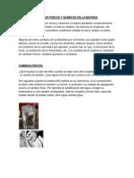 Cambios Fisicos y Quimicos en La Materia y Energia