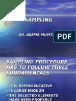 Fundamentals of Sampling Procedure