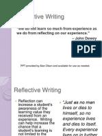 Reflective Portfolio