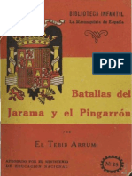 Batallas del Jarama y el Pingarrón