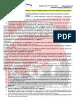 El Comité Estatal de Coordinación analiza el Proyecto de Plan Estatal de Protección Civil de emergencias por incendios forestales
