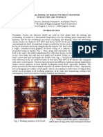 Analytical Model of Radiative Heat Transfer in Electric Arc Furnace