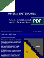 7 Metodos Mineros Aplicados Al Carbon- Escalones Invertidos