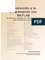 Introduccion a La Programacion Con MATLAB 46 Ejercicios Resueltos Con Varias Soluciones Todas Claramente Explicadas