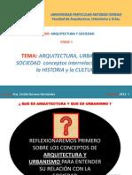 1.Arq. y Sociedad.Conceptos Básicos 2013-1