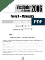 UEM_2006_Inverno_Prova_III_Discursiva_Matemática