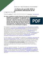 Actualidad Renglon 30 31 Declaracion Renta