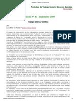 MARGEN 40 - Revista de Trabajo Social
