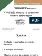 avaliação formativa