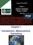 Lecture_Ch01 Introduction, Measurement, Estimating