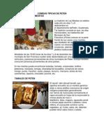 Comidas Tipicas de Peten