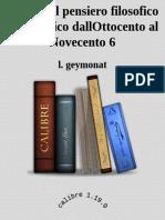Storia Del Pensiero Filosofico e Scientifico DallOttocento Al Novecento 6 - l. Geymonat