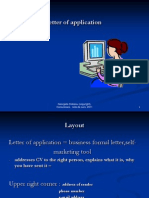 1.4 - Letter of Application