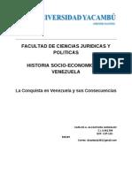 Ensayo Historia de Venezuela