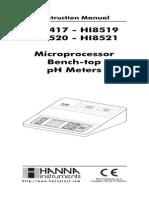 Phmetro Hanna HI 8521