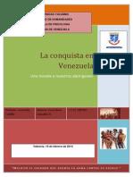 La Conquista en Venezuela. La Esencia