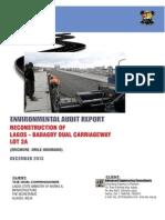 Environmental Audit Report Cover