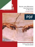 Faith and Reason; The Philosophy of Religion - Peter Kreeft