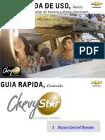 Guia Rapida de Uso Chevystar