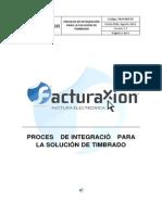 Proceso de Integracion Para La Solucion de Timbrado v1.5