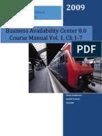 Bac 80 Essentials Manual Volume 1