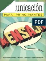 Comunicación para principiantes