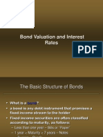 Bond Valuation and Interest Rates 5