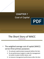 Cost of Capital 7