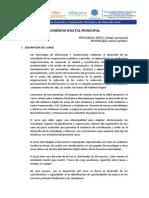 UNED - PRESENTACIÓN CURSO GOBIERNO DIGITAL MUNICIPAL