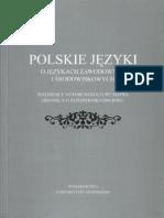 M. Kochan, Mówiony język biznesu, [w:] Polskie języki. O językach zawodowych i środowiskowych, Gdańsk 2010, s. 139-175