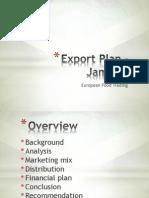 Export Plan - Jamaica