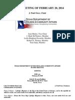 TDHC Agenda 2-20-2014