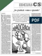 HOJEMACAU - Democratização gradual - como e quando - pdf
