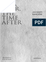 RANCIERE- BÉLA TARR, THE TIME AFTER