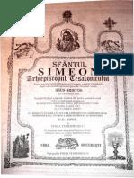 Generalitati Despre Pomenirea Mortilor - Sf Simeon Al Tesalonicului