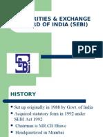 Securities & Exchange Board of India (Sebi)